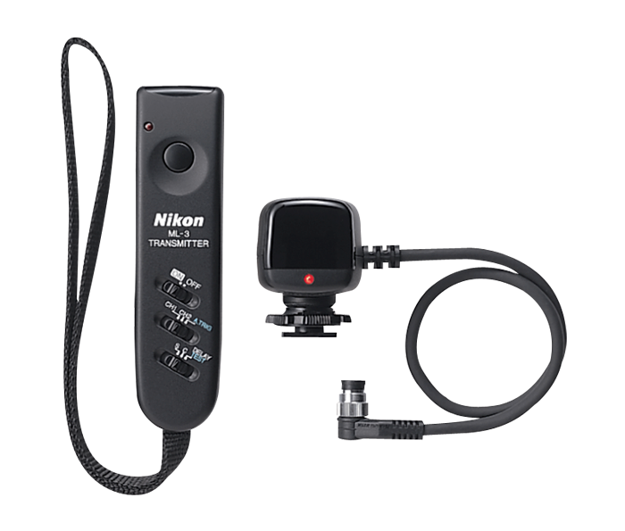 ML-3 Modulite Remote Control Set<br>(uses the 10 pin connector